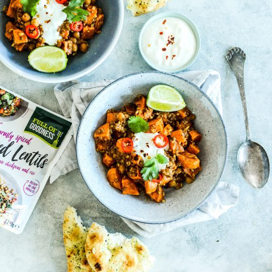 Sweet Potato Dahl - Curried Lentils (4)